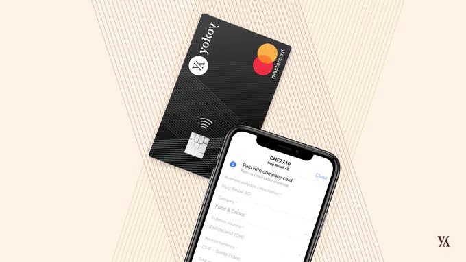 Yokoy card and app-2