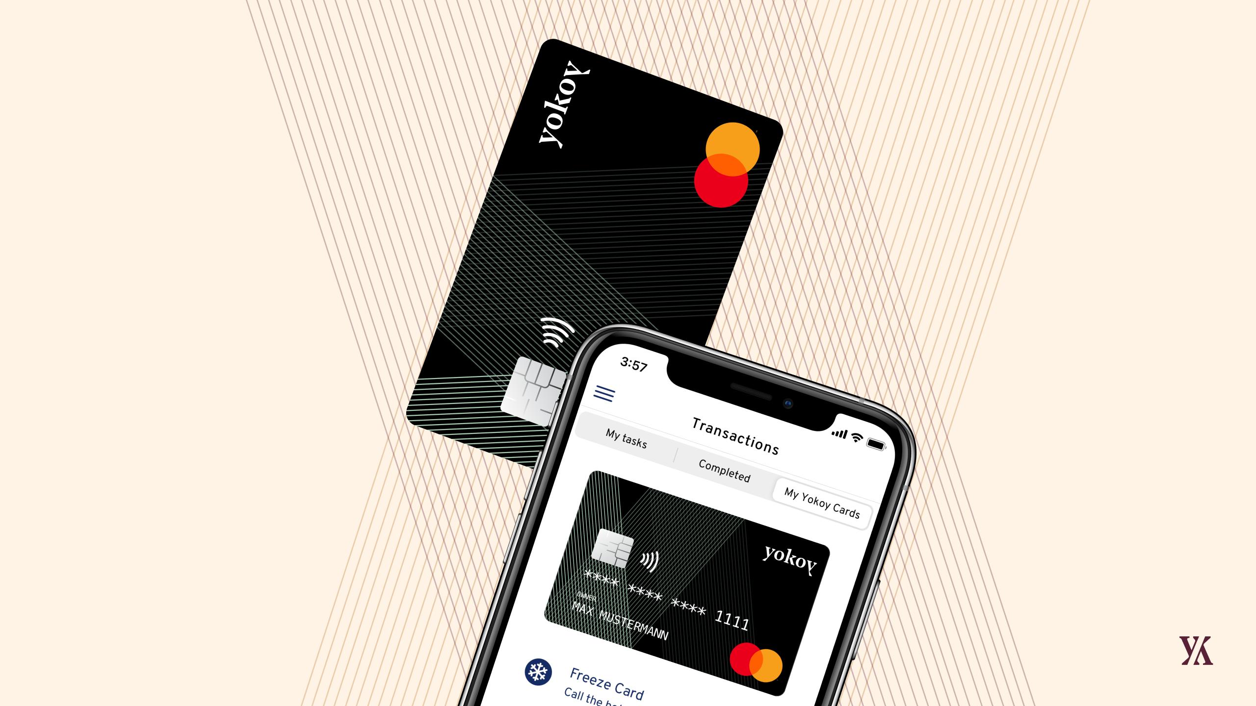 Yokoy Mastercard with App