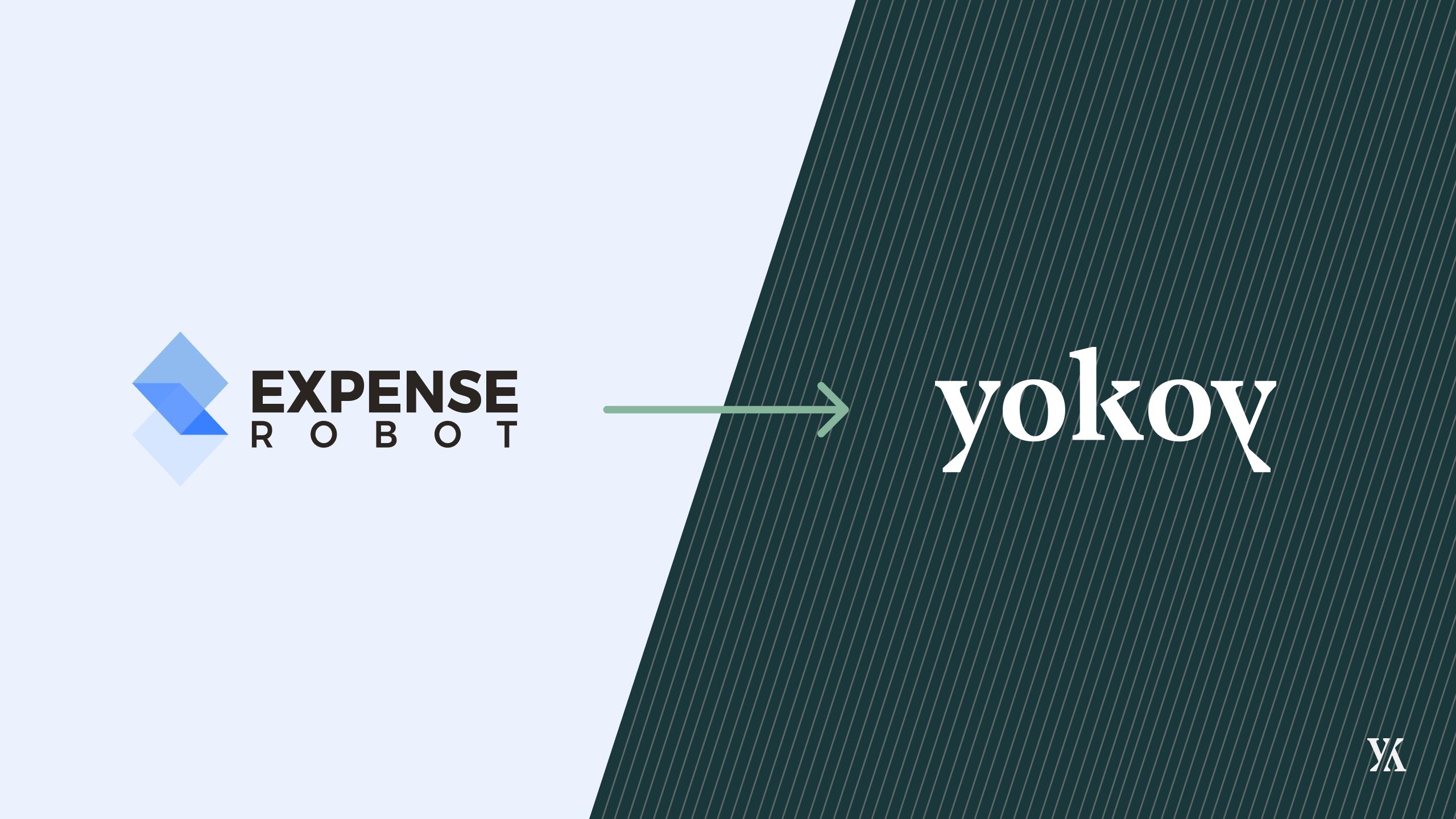 Ein Banner von Yokoy's Rebranding