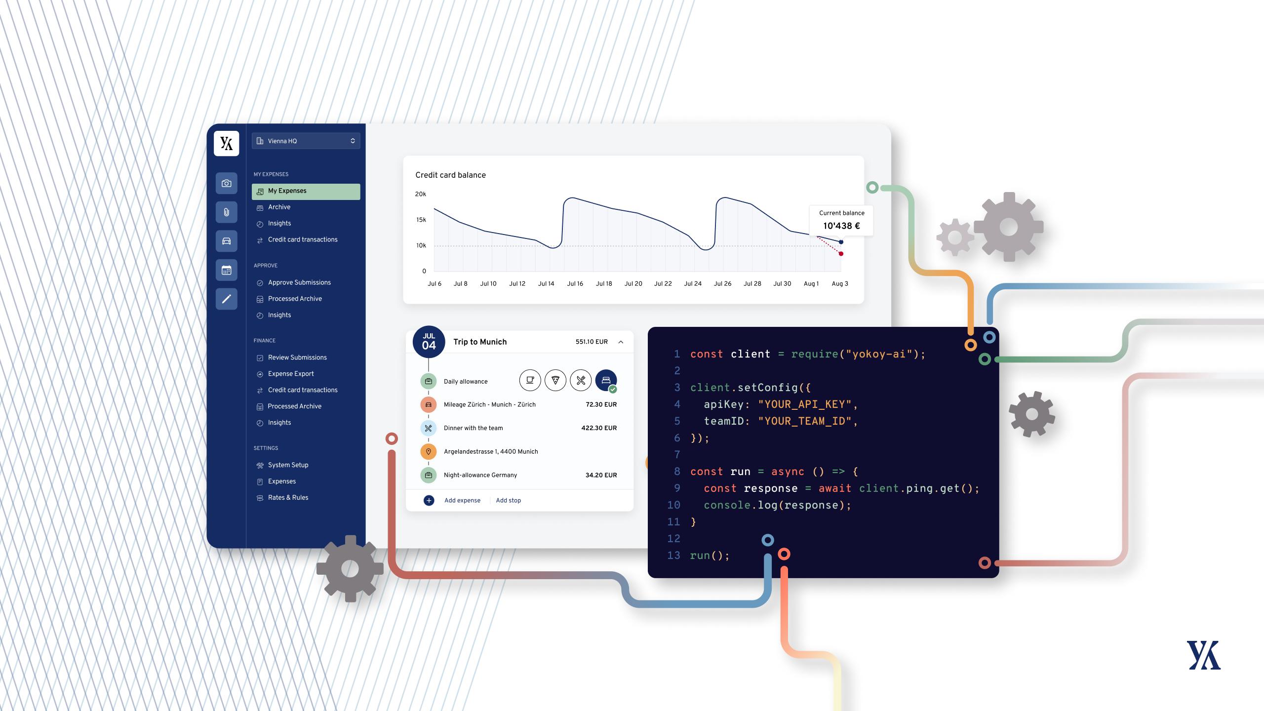 Yokoy's new Open API Developer Platform